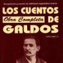 Libros de segunda mano: LOS CUENTOS DE GALDOS - OBRA COMPLETA - VOLUMEN-1 - BENITO PEREZ GALDOS - CCPC - 1994. Lote 45770421