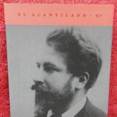 Libros de segunda mano: JUVENTUD EN VIENA (UNA AUTOBIOGRAFÍA) ARTHUR SCHNITZLER (ACANTILADO, 2004). Lote 46290268