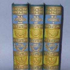 Libros de segunda mano: OBRAS COMPLETAS DE MIGUEL ANGEL ASTURIAS. (3 TOMOS). Lote 46368742