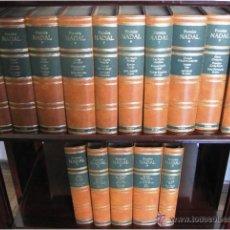 Libros de segunda mano: PREMIOS NADAL 1944 – 1988, 45 OBRAS EN 15 TOMOS, ED. PLANETA, COLECCION COMPLETA, IMPECABLE ESTADO. Lote 46408133