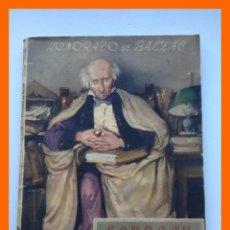 Libros de segunda mano: GOBSECK, EL AVARO - HONORATO DE BALZAC - COLECCION OASIS. Nº 35. Lote 46495561