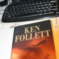 Libros de segunda mano: VUELO FINAL, KEN FOLLETT, EDITA GRIJALBO 1ª EDICION MARZO 2003. Lote 46612561
