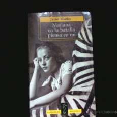 Libros de segunda mano: JAVIER MARIAS. MAÑANA EN LA BATALLA PIENSA EN MI. ALFAGUARA BOLSILLO. Lote 46648142