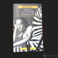 Libros de segunda mano: JAVIER MARIAS. MAÑANA EN LA BATALLA PIENSA EN MI. ALFAGUARA BOLSILLO. Lote 46770832