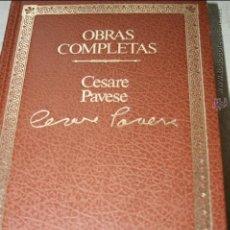 Libros de segunda mano: CESARE PAVESE. OBRAS COMPLETAS (T. II) ED. SEIX BARRAL, 1988. Lote 46945903