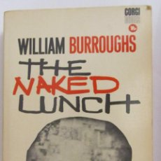 Libros de segunda mano: THE NAKED LUNCH DE WILLIAM BURROUGHS (1968). Lote 47192095