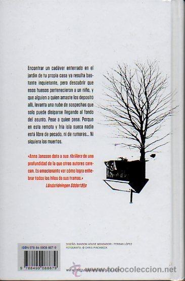 Libros de segunda mano: HABLARÉ CUANDO ESTÉ MUERTO - ANNA JANSSON. DEBOLSILLO, 2011 - Foto 3 - 47607896