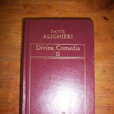 Libros de segunda mano: ALIGHIERI, DANTE. [DIVINA] COMEDIA. II. Lote 47759350