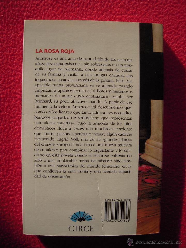 Libros de segunda mano: LA ROSA ROJA - INGRID NOLL - Foto 2 - 47877643