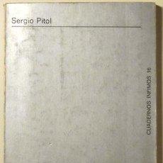 Libros de segunda mano: PITOL, SERGIO - DEL ENCUENTRO NUPCIAL - TUSQUETS 1970 - CUADERNOS ÍNFIMOS - 1ª EDICIÓN. Lote 140666893