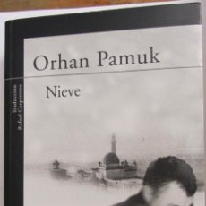 Libros de segunda mano: NIEVE DE ORHAN PAMUK (ALFAGUARA). Lote 48161838