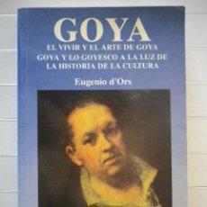 Gebrauchte Bücher - Eugenio D'Ors - Goya - 48288841