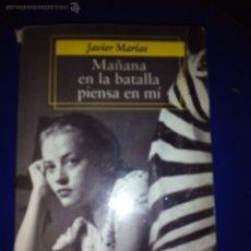 Libros de segunda mano: MAÑANA EN LA BATALLA PIENSA EN MI - JAVIER MARIAS (ALFAGUARA BOLSILLO). Lote 48308710