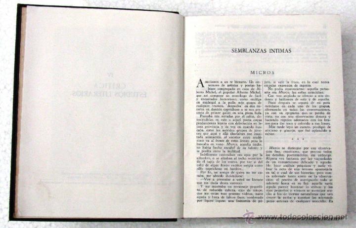 Libros de segunda mano: AMADO NERVO OBRAS COMPLETAS EN 2 TOMOS OBRAS ETERNAS 1ra EDICION ED AGUILAR MADRID AÑOS 1951 1952 - Foto 13 - 237002095