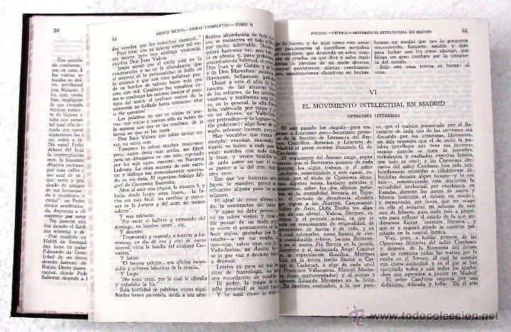 Libros de segunda mano: AMADO NERVO OBRAS COMPLETAS EN 2 TOMOS OBRAS ETERNAS 1ra EDICION ED AGUILAR MADRID AÑOS 1951 1952 - Foto 16 - 237002095