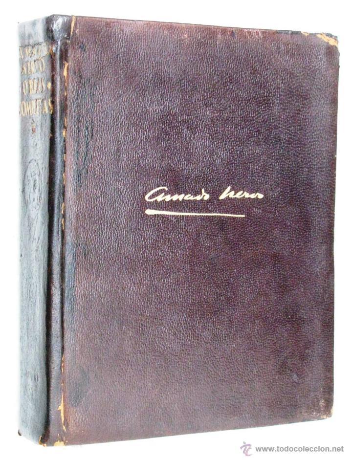 Libros de segunda mano: AMADO NERVO OBRAS COMPLETAS EN 2 TOMOS OBRAS ETERNAS 1ra EDICION ED AGUILAR MADRID AÑOS 1951 1952 - Foto 27 - 237002095