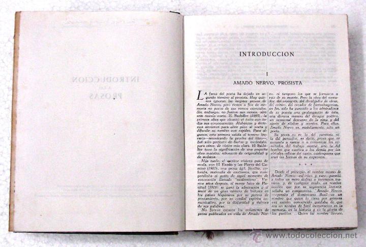 Libros de segunda mano: AMADO NERVO OBRAS COMPLETAS EN 2 TOMOS OBRAS ETERNAS 1ra EDICION ED AGUILAR MADRID AÑOS 1951 1952 - Foto 35 - 237002095