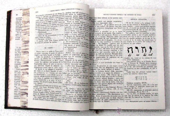 Libros de segunda mano: AMADO NERVO OBRAS COMPLETAS EN 2 TOMOS OBRAS ETERNAS 1ra EDICION ED AGUILAR MADRID AÑOS 1951 1952 - Foto 36 - 237002095