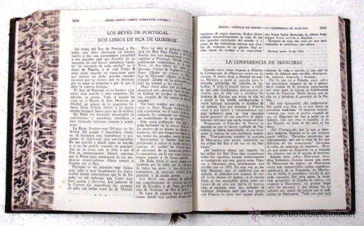 Libros de segunda mano: AMADO NERVO OBRAS COMPLETAS EN 2 TOMOS OBRAS ETERNAS 1ra EDICION ED AGUILAR MADRID AÑOS 1951 1952 - Foto 38 - 237002095