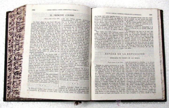 Libros de segunda mano: AMADO NERVO OBRAS COMPLETAS EN 2 TOMOS OBRAS ETERNAS 1ra EDICION ED AGUILAR MADRID AÑOS 1951 1952 - Foto 39 - 237002095