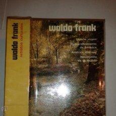 Libros de segunda mano: RETRATOS CULTURALES 1963 WALDO FRANK EDITORIAL AGUILAR . Lote 48360781