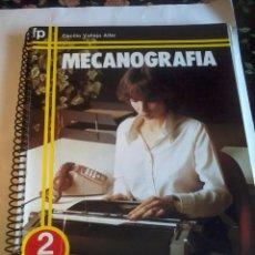 Libros de segunda mano: MECANOGRAFIA. FORMACION PROFESIONAL EVEREST. 2 F.P.1. CECILIO VALLEJO ALLER. EST12B6. Lote 64502219