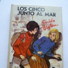 Libros de segunda mano: LIBRO Nº 496 - LOS CINCO JUNTO AL MAR - ENID BLYTON. Lote 48445151