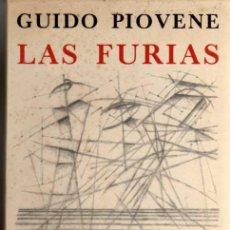 Libros de segunda mano: LAS FURIAS - GUIDO PIOVENE - SEIX BARRAL - 1º EDICIÓN 1966 - DIBUJO PORTELA PARKER. Lote 48894813