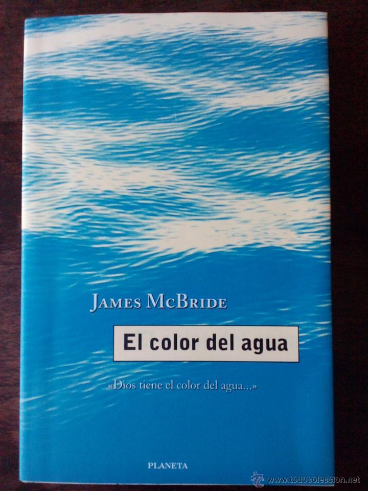 libro el color del agua - de james mcbride - Comprar en ...
