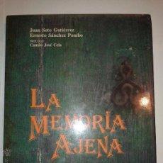Libros de segunda mano: LA MEMORIA AJENA 1993 JUAN SOTO GUTIÉRREZ ERNESTO SÁNCHEZ POMBO ED XUNTA DE GALICIA. Lote 49048872