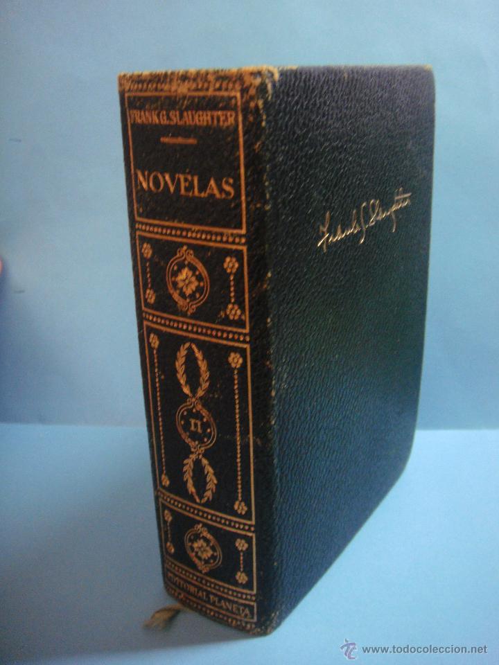 LIBRO. NOVELAS. TOMO II. FRANK G. SLAUGHTER. 1ª EDICIÓN 1958. SANGAREE. MADERA DE ÉBANO. HOMBRES DE (Libros de Segunda Mano (posteriores a 1936) - Literatura - Narrativa - Otros)