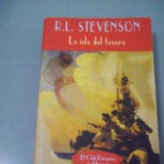 Libros de segunda mano: LA ISLA DEL TESORO - ROBERT L. STEVENSON. EL CLUB DIÓGENES Nº 220. VALDEMAR.. Lote 49518030