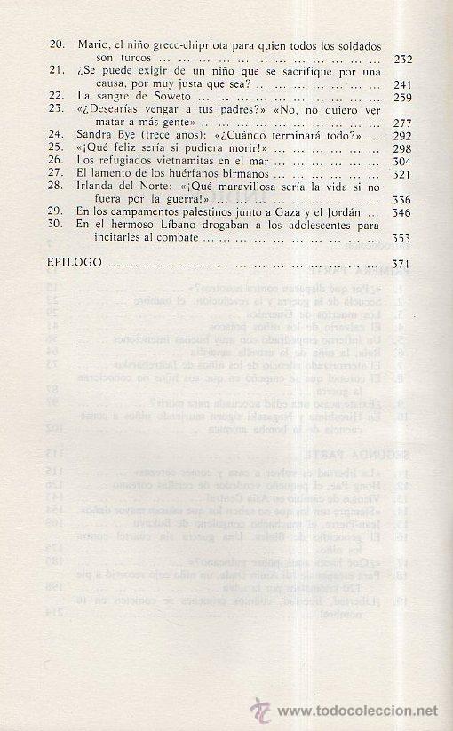 Libros de segunda mano: EL GRITO DE LOS NIÑOS - PETER TOWNSEND. ULTRAMAR EDITORES, 1980 - Foto 3 - 49541066