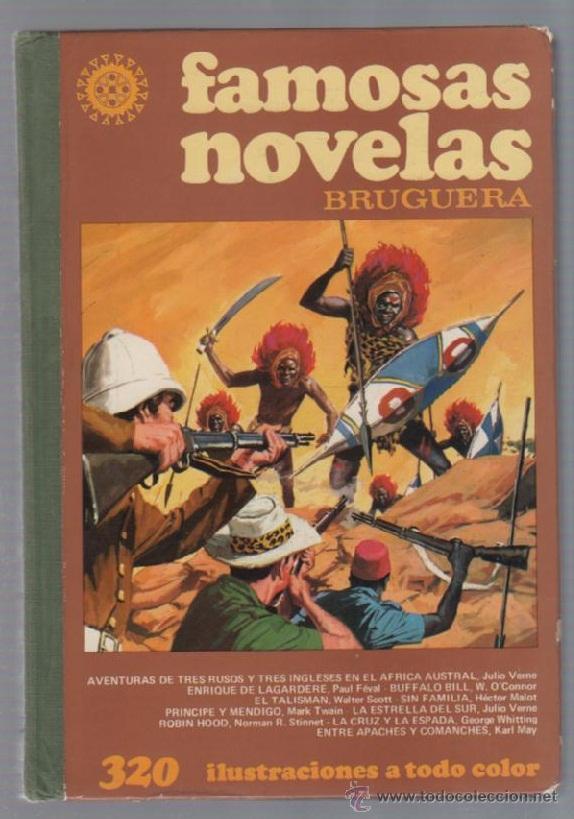 AVENTURAS DE TRES RUSOS Y TRES INGLESES EN EL AFRICA AUSTRAL. JULIO VERNE. BRUGUERA. 1981 (Libros de Segunda Mano (posteriores a 1936) - Literatura - Narrativa - Otros)