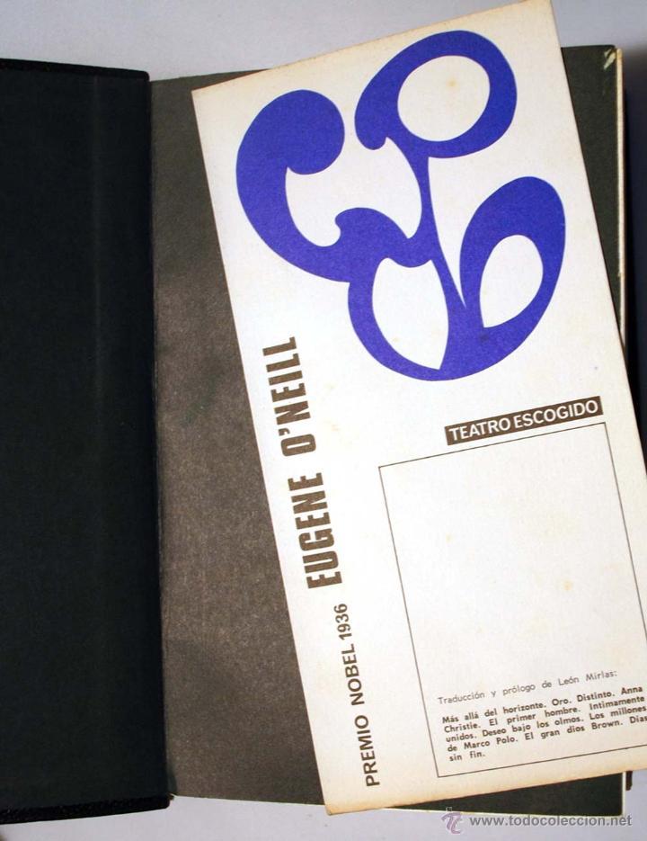 Libros de segunda mano: EUGENE O´NEILL. TEATRO ESCOGIDO. AGUILAR. - Foto 4 - 49782821