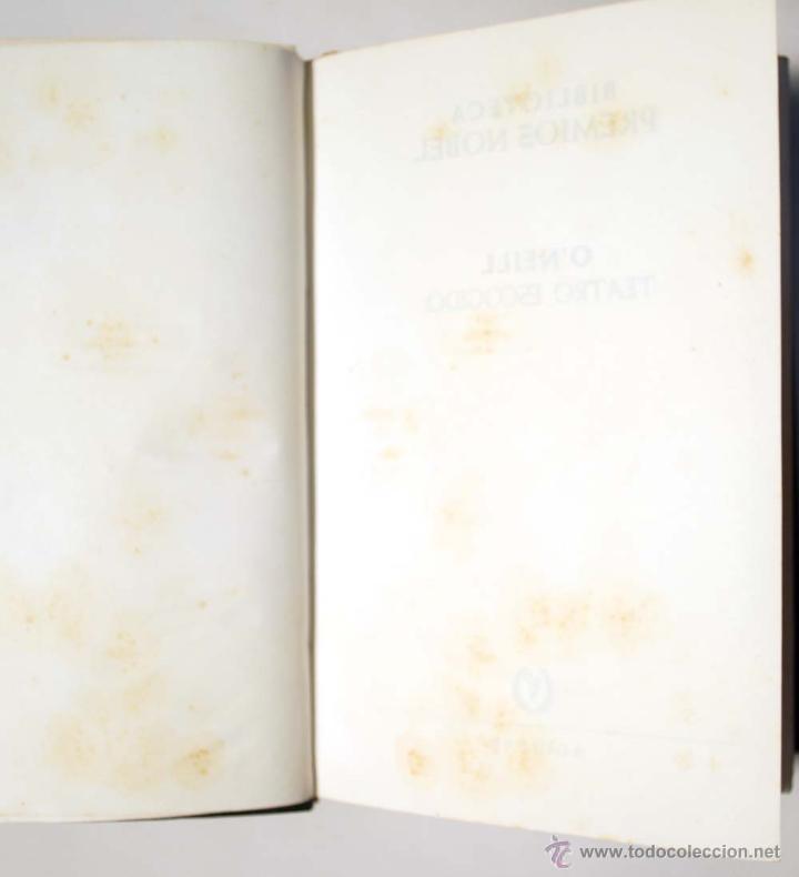 Libros de segunda mano: EUGENE O´NEILL. TEATRO ESCOGIDO. AGUILAR. - Foto 5 - 49782821