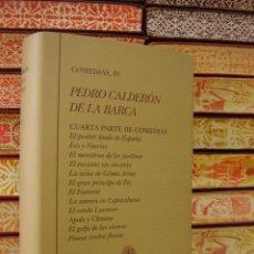 Libros de segunda mano: OBRAS COMPLETAS . COMEDIAS IV . AUTOR : CALDERON DE LA BARCA, PEDRO . Lote 49848621