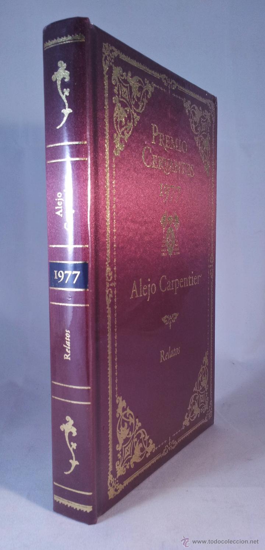 PREMIO CERVANTES 1977. RELATOS. ALEJO CARPENTIER. EDICIÓN DE LUJO. NUEVO (Libros de Segunda Mano (posteriores a 1936) - Literatura - Narrativa - Otros)