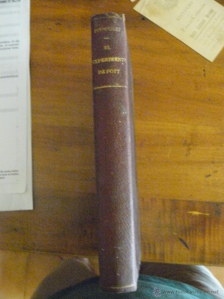 EL EXPERIMENTO DE POTT. PITIGRILLI. 1930 (Libros de Segunda Mano (posteriores a 1936) - Literatura - Narrativa - Otros)