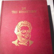 Libros de segunda mano: LOS TRES MOSQUETEROS. ALEJANDRO DUMAS. EDIT. J. PEREZ DEL HOYO. FALLO DE IMPRESION. EST9B4. Lote 50243797