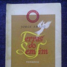 Libros de segunda mano: TERRAS DO SEM FIM / JORGE AMADO / 2ª EDIÇAO / 1942 / EDIÇAO LIBROS DO BRASIL, LISBOA-. Lote 50636438