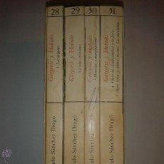 Libros de segunda mano: GÁRGORIS Y HABIDIS UNA HISTORIA MÁGICA DE ESPAÑA 4 TOMOS 1979 FERNANDO SÁNCHEZ DRAGÓ HIPERIÓN . Lote 50676228