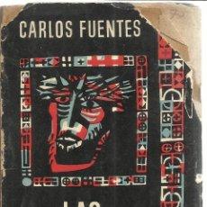 Libros de segunda mano: LAS BUENAS CONCIENCIAS. CARLOS FUENTES. 3º ED. FONDO DE CULTURA Eª. MÉXICO. 1961. Lote 50753079