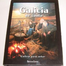Libros de segunda mano: XOSÉ MANUEL GONZÁLEZ REBOREDO. GALICIA DE CONTO. RM70730. . Lote 50759992