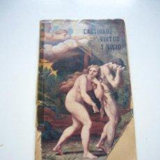 Libros de segunda mano: CASTIDAD, VIRTUD Y VICIO. KRAFFOSCKI, MAX. DR. XG7. Lote 50863798