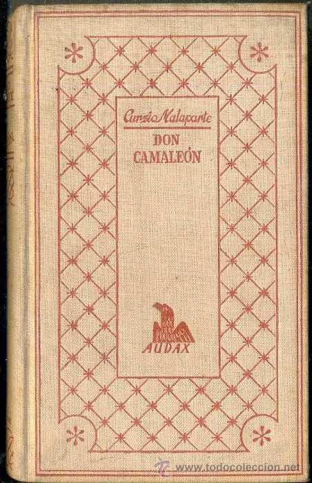 CURZIO MALAPARTE : DON CAMALEÓN (JOSÉ JANÉS, 1952) (Libros de Segunda Mano (posteriores a 1936) - Literatura - Narrativa - Otros)