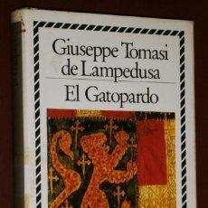 Libros de segunda mano: EL GATOPARDO POR GIUSEPPE TOMASI DE LAMPEDUSA DE CÍRCULO DE LECTORES EN BARCELONA 1987. Lote 46017311