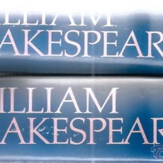 Libros de segunda mano: WILLIAM SHAKESPEARE. OBRAS COMPLETAS. DOS TOMOS. RM70810. . Lote 51022905