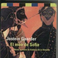 Libros de segunda mano: EL MÓN DE SOFIA -JOSTEIN GAARDER. Lote 51029833