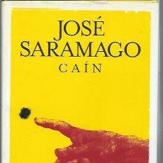 Libros de segunda mano: JOSÉ SARAMAGO, CAÍN, ALFAGUARA MADRID 2009, CON CUBIERTAS, 200 PÁGS, 14 POR 19CM. Lote 51061156